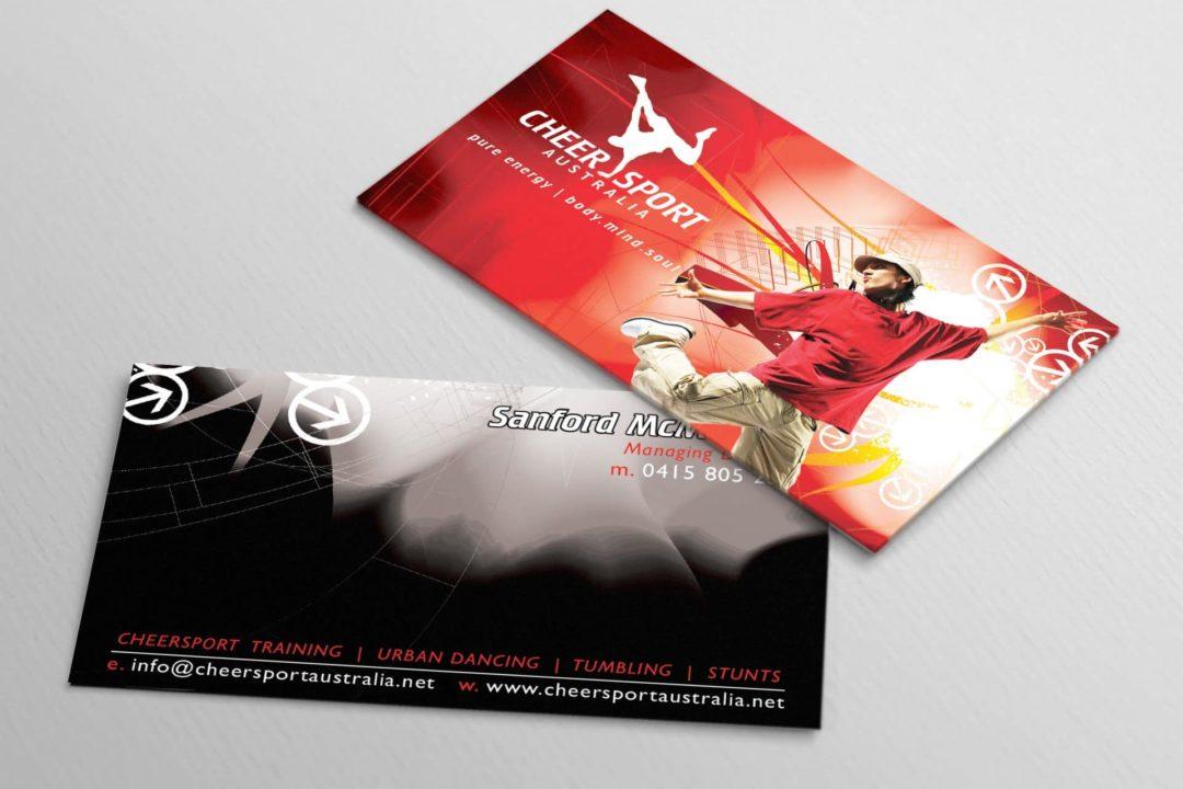Cheersport Business Card