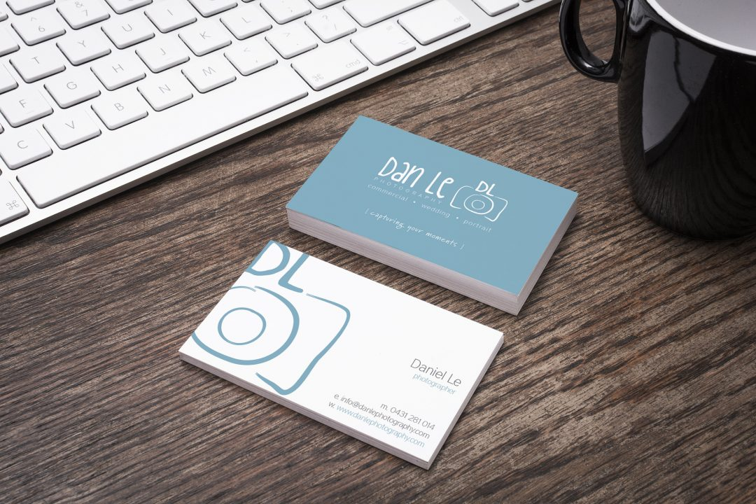 Dan Le Photography Business Card
