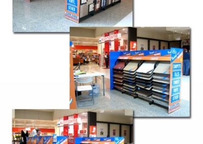 Total Flooring – Pop-up Shopping Centre Display