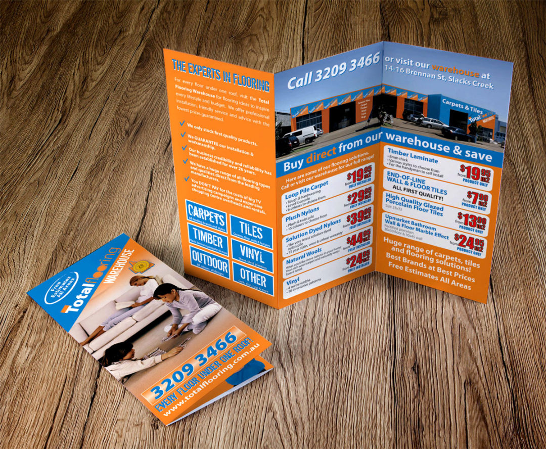 Total Flooring Tri-Fold Brochure