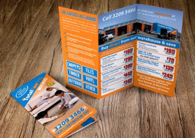 Total Flooring Tri-Fold Brochure
