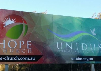 Unidus Outdoor Sign
