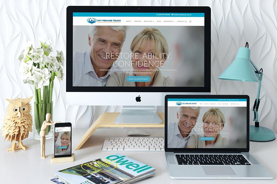 My Rehab Team Website