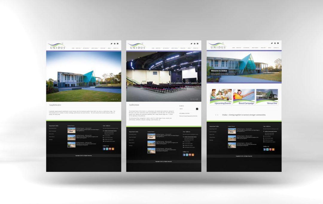 Unidus Community Centre Website