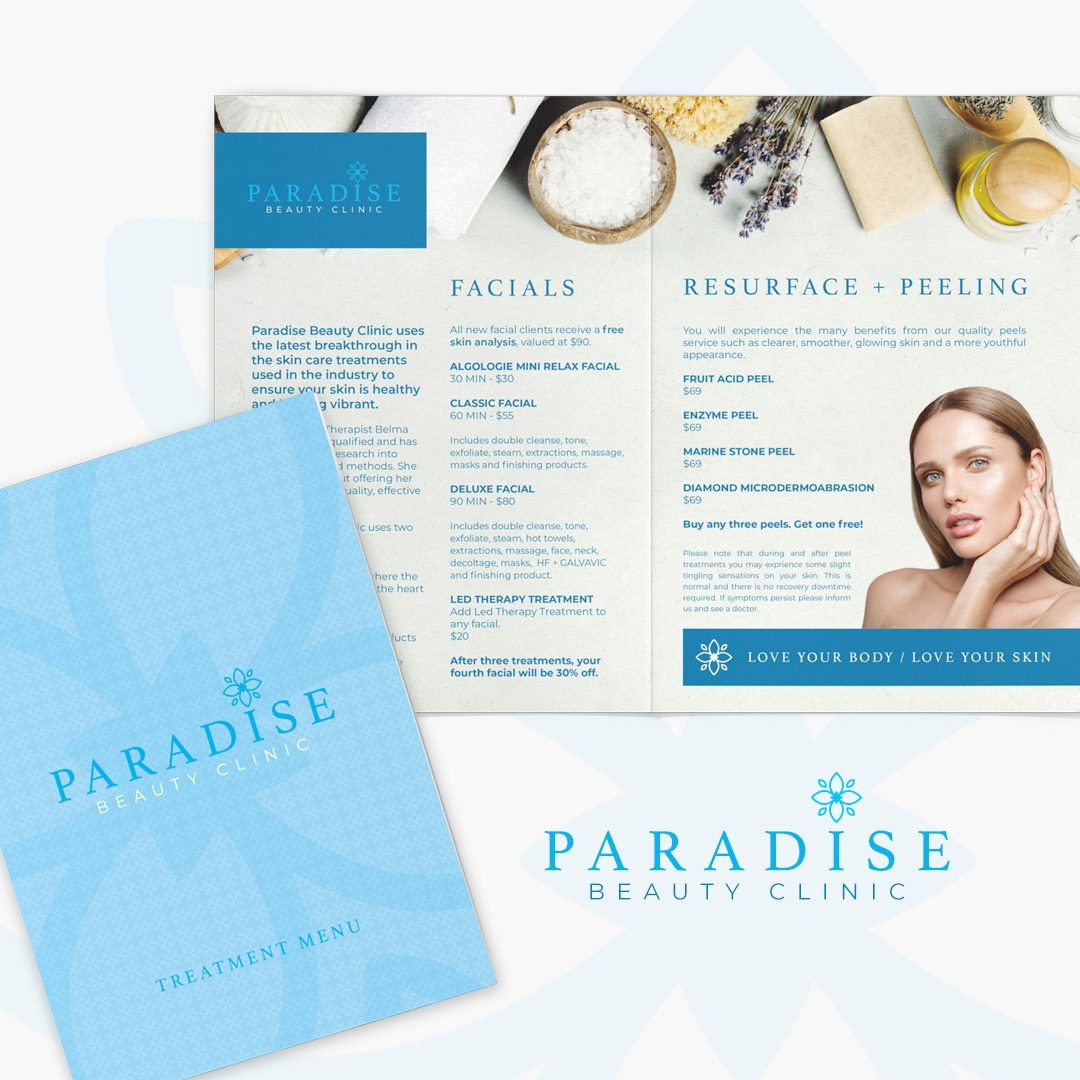 Paradise Beauty Clinic Price List
